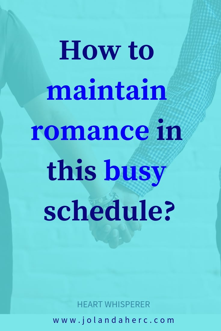 The Secret to Finding Time for Your Relationship - without dates, how happy couples deal with being busy differently.