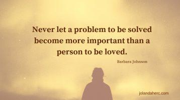 Transform your relationship - problem solving