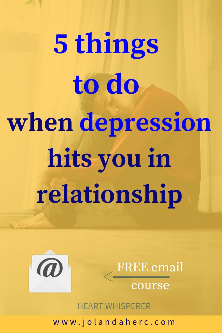 depression in relationships coping