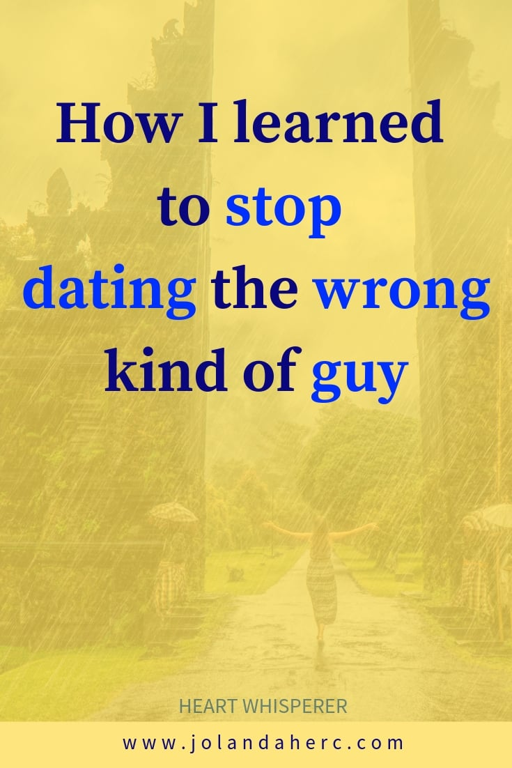 how to find true love- how to stop choosing the wrong man