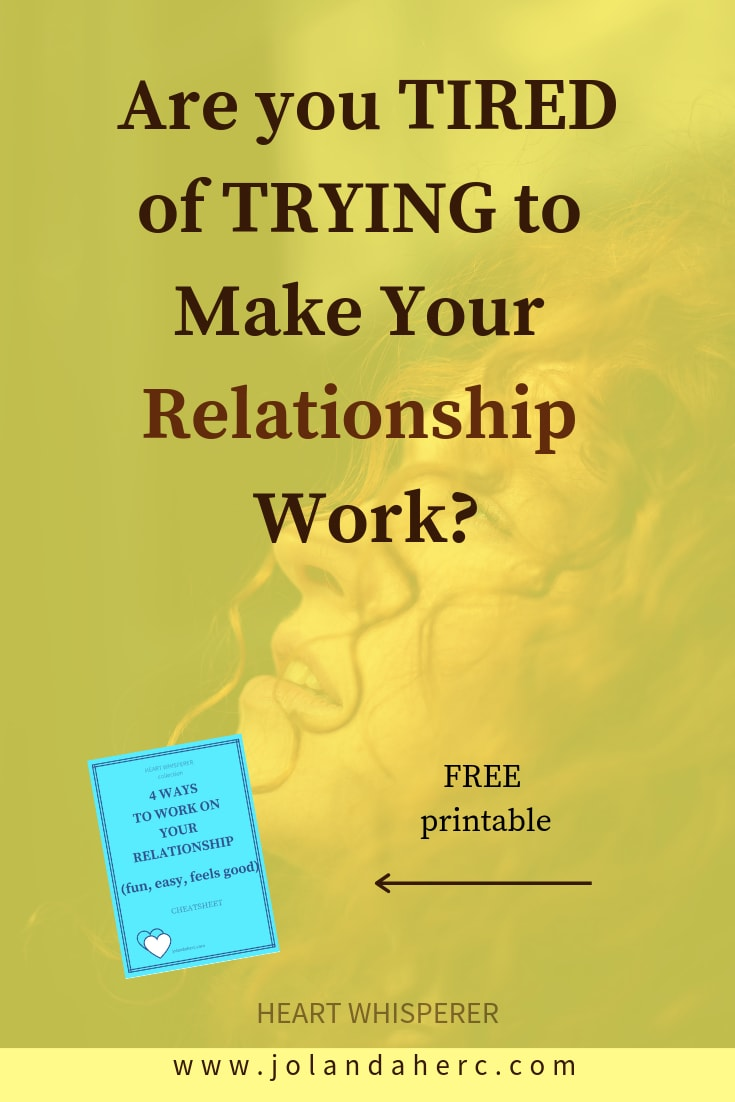 Are you\'re Tired of Trying to Make Your Relationship work, I've been there too… But Working on your relationship can totally be fun! Click through to find out how #relationshipProblemsHowToFix,#RelationshipHelpIdeas