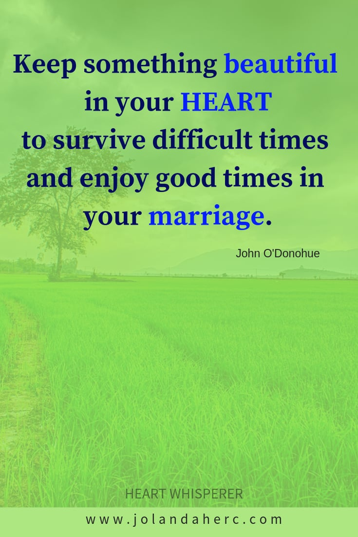 Love quote as inspiration to strengthen the marriage happiness -