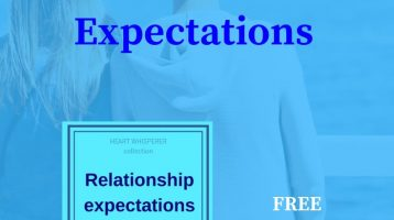 relationship expectations worksheet